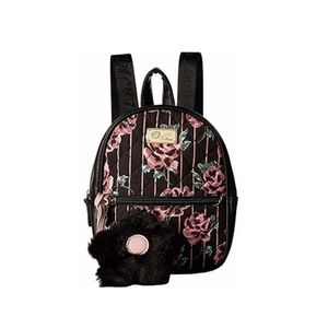 Betsey Johnson Sadie Floral Quilted Mini Backpack